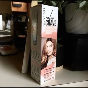 Color Crave Hair Makeup, Rose Gold NIB